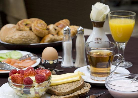 The Plaza Hotel: Breakfastbuffet
