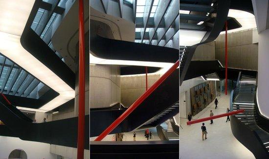 MAXXI - Museo Nazionale Delle Arti del XXI Secolo: Интерьер