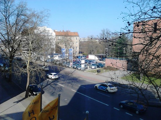 Park Hotel Blub Berlin: Вид из номера 2