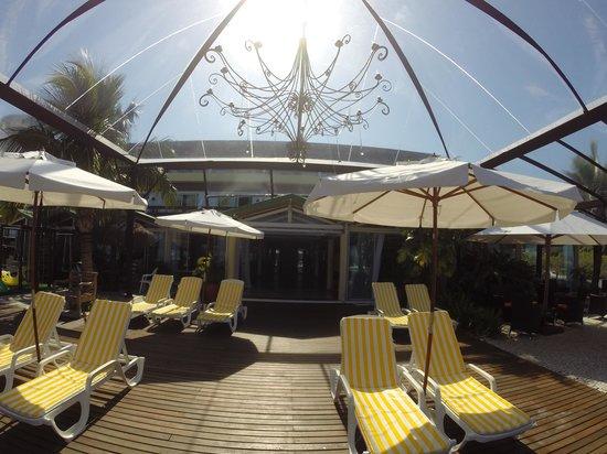 Costa Norte Ponta Das Canas Hotel Florianopolis: patio