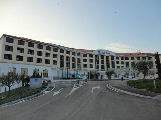 Park Plaza Histria Pula: вид на отель