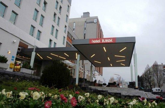 Hotel Turist Varazdin : Entrance