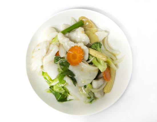 Jade Inn Chinese Restaurant: Barramundi Ginger Shallots