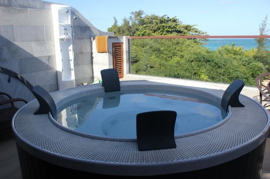 Bur-nas Beach: jacuzzi appartement suite de 140 m2