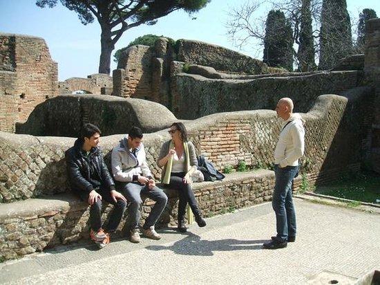 Paola your Personal Guide of Rome- Private day tours: Visita ad Ostia con Paola Barbanera 16/3/2014