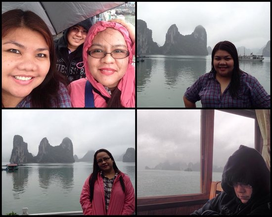 Hanoi 3B Hotel: Halong Bay, a magical experience... or a sleepy time for some! LOL