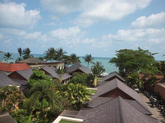 Samui Jasmine Resort: Blick vom Balkon