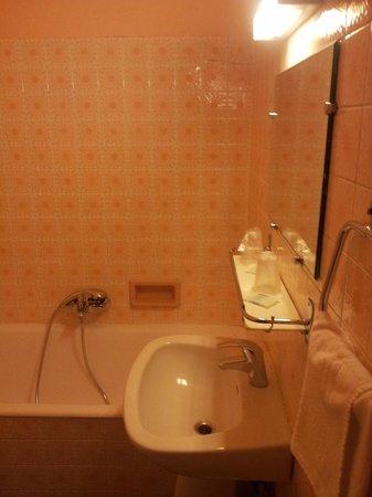 Hotel des Belges: Ванная