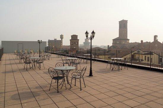 Terrazzo - Picture of Best Western Hotel San Donato, Bologna ...