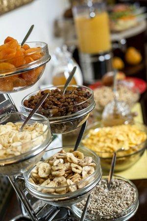 Boutique Hotel Seven Days : Healthy breakfast