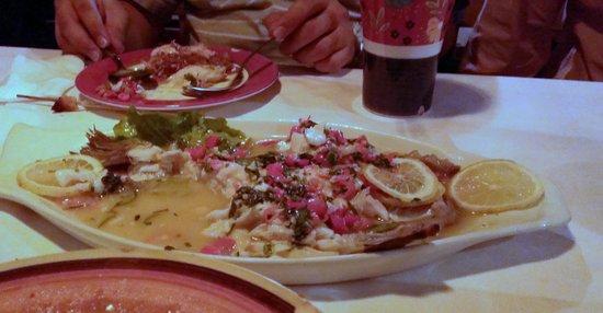"""No.18 Restaurant : Spicy sour fish """"soup"""". Excellent!"""