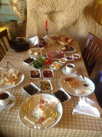 Dere Suites Cappadocia : kahvalti