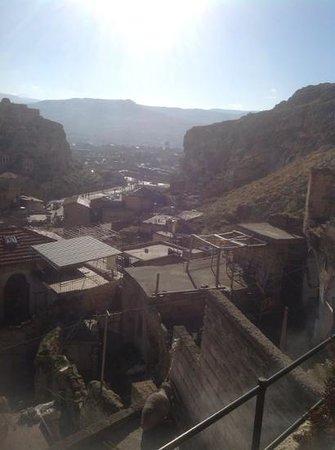 Dere Suites Cappadocia: terastan urgup manzarasi