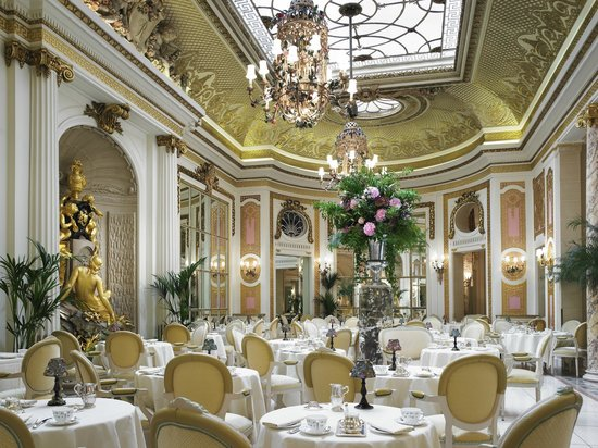Tea at the Ritz: The Palm Court