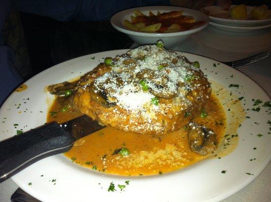 Arturo's Italian Restaurant : Signature pork dish, a real winner!