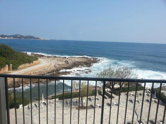 Sensimar Aguait Resort & Spa: Vistas desde la terraza de la habitación