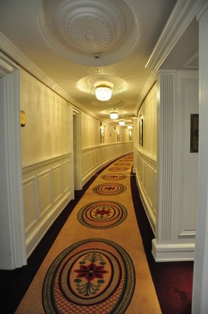 Powerscourt Hotel, Autograph Collection: Hallway to our Suite, love all the wood work