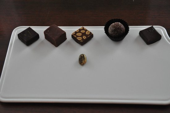 Powerscourt Hotel, Autograph Collection: Our welcome chocolates… delish and such a nice touch