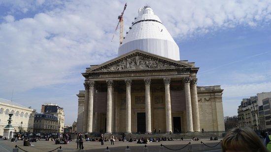 Panthéon : Пантеон снаружи