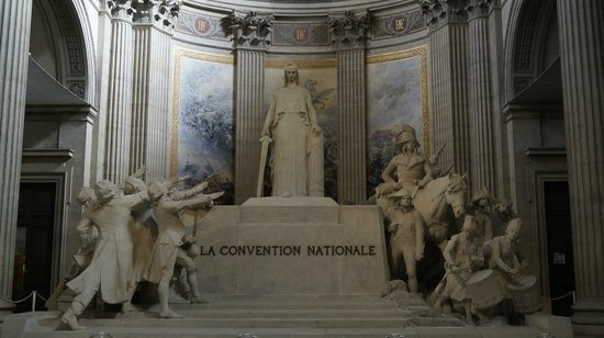 Panthéon: Пантеон внутри