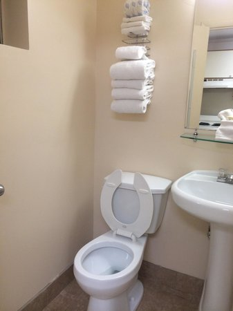 Driftwood Lodge: Another pic of bathroom.