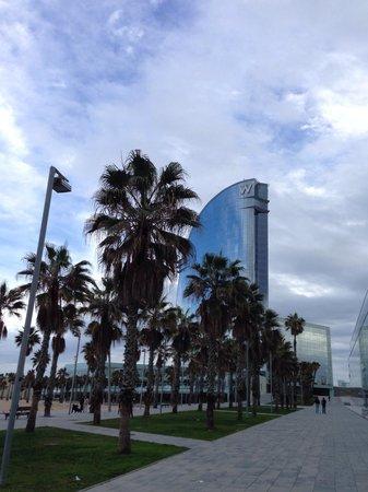 W Barcelona: Отель