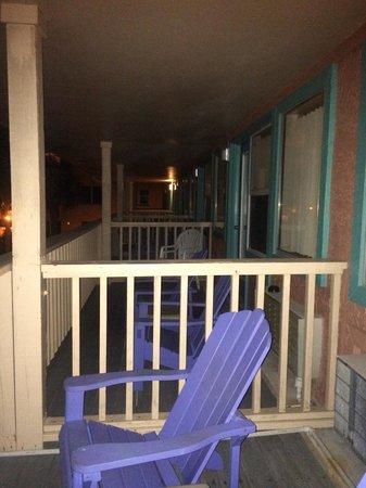 Driftwood Lodge PCB - open balcony
