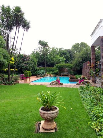 5th Avenue Gooseberry Guest House: Pool/ Garden