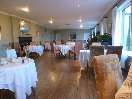 The Creggans Inn : Dining Room