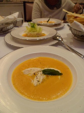 The Wellesley: my favourite pumpkin soup