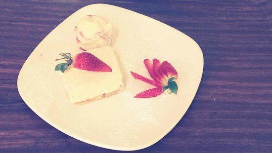 The Alice Lisle: Vanilla & Strawberry Cheesecake Lovely!