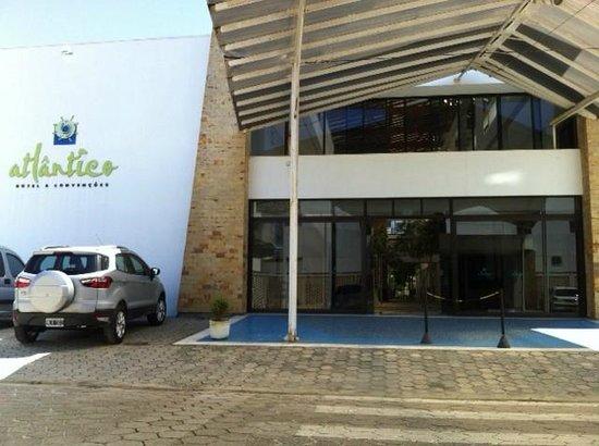 Hotel Atlantico: ala de trás do hotel