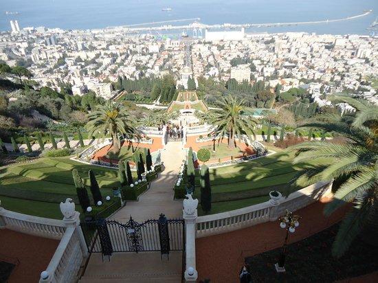 The Colony Hotel Haifa: Jardim Bahai
