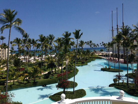 Iberostar Grand Hotel Bavaro : View from our 4th floor Ocean View room