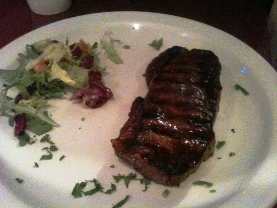 Argentine Steakhouse El Toro: sirloin not as good as the rib eye