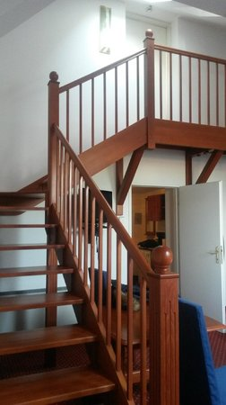 Hotel Carlton Opera: Лестница на веранду