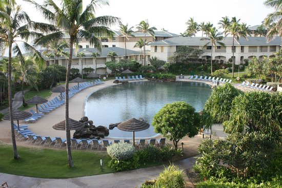 The Point at Poipu: View from room
