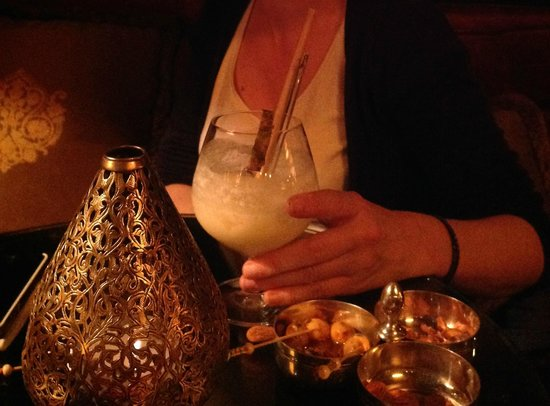 La Mamounia Marrakech : le pire de cocktails au bar de l'hôtel