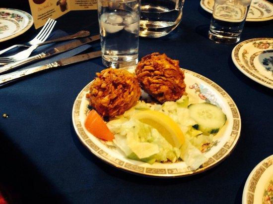 Stanwix Tandoori: Beat Onion bhaji  ever