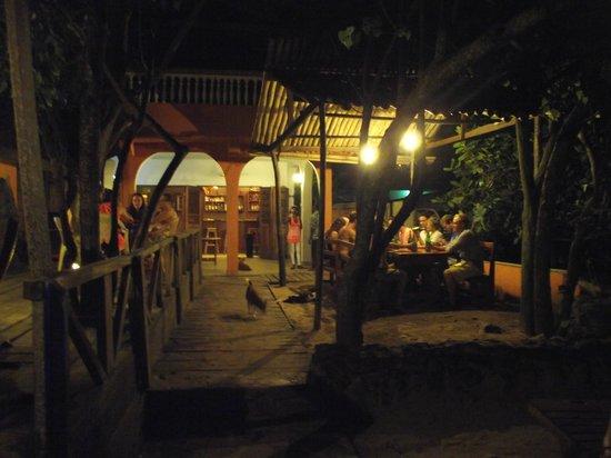 Busua Inn: Asa Baako Evening, before the rain came :)