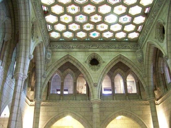 Colina del Parlamento: interior of building