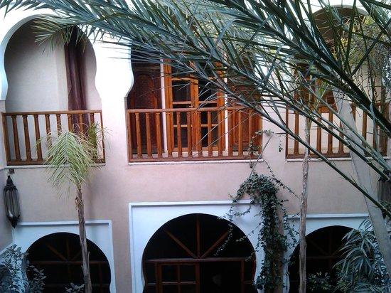 Riad Selouane : vista dalla camera. quella davanti è quella col balcone che avrei voluto...