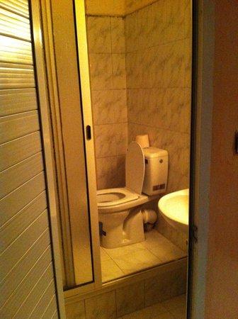Hotel Velleda: Toilettes