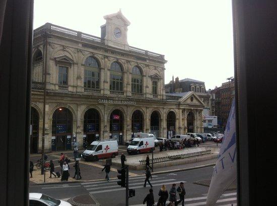 Hotel Continental : Vu de la fenêtre
