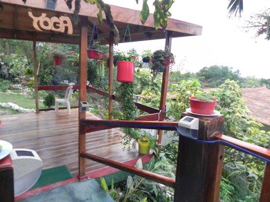 Xanadu Hotel: Deck Yoga