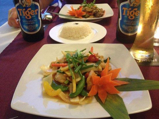 Bussaba Thai Restaurant : Velsmagende, flotte og overkommelige portioner
