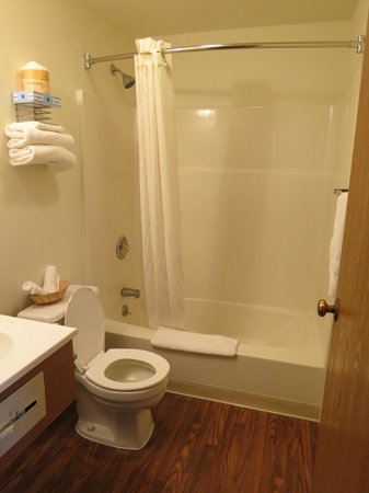 Super 8 Carson City: Bathroom clean with great shower