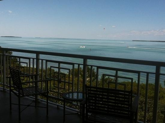 Hilton Key Largo Resort: view from floor 4