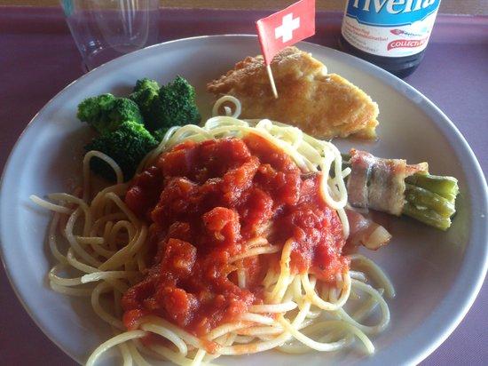 Grimentz - Bendolla - lunch
