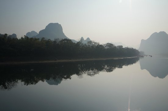 Japanese Guide Optional Tour-China International Travel Service Guilin Co.Ltd : 桂林_川下り
